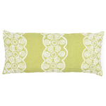 Pine Cone Hill French Knot Citrus Decorative Pillow