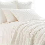 Pine Cone Hill Brussels Ivory Quilt
