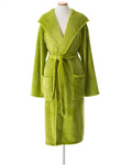 Pine Cone Hill Selke Fleece Green Hooded Robe