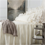 Pine Cone Hill Linen Mesh Ivory Bedspread