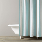 Kassatex Capri Stripe Shower Curtain