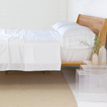 Pom Pom at Home Bamboo Sheet Set - White