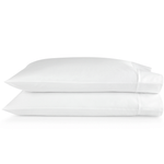 Peacock Alley Supima® Semplice Sateen Pillow Cases - White