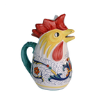 Sambuco 1.0L Rooster Pitcher  - Rico Deruta
