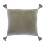 Pom Pom at Home Bianca Square Pillow - Sage