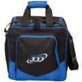 Columbia 300 White Dot Single Ball Bowling Bag - Royal