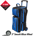 Columbia 300 Icon 3 Ball Roller Bowling Bag - Royal