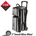 Columbia 300 Icon 3 Ball Roller Bowling Bag - Silver