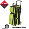 Columbia 300 Icon 3 Ball Roller Bowling Bag - Lime