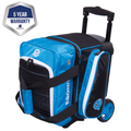 Ebonite Eclipse 1 Ball Roller Bowling Bag - Blue
