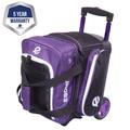 Ebonite Eclipse 1 Ball Roller Bowling Bag - Purple