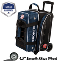 Ebonite Eclipse 2 Ball Roller Bowling Bag - Navy