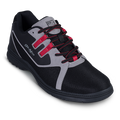 KR Strikeforce Ignite Men's Bowling Shoes - Black/Grey/Red (RIGHT HAND - WIDE WIDTH)