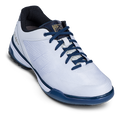 KR Strikeforce Rage Men's Bowling Shoes - White/Navy (RIGHT HAND)