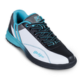 KR Strikeforce Starr Women's Bowling Shoes - White/Black/Teal (RIGHT HAND - WIDE WIDTH)