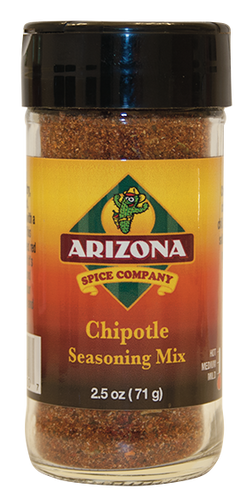 A lot of versatility in this fresh tasting flavorful rub.  Makes a great meat rub or fajita seasoning mix.  Medium heat level.  AND...only 45 mg of sodium per serving.