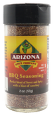 A nice spicy barbecue rub.  All natural with honey powder as the sweetener.