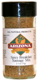 Breakfast Sausage Seasoning Mix - Spicy