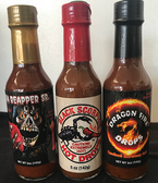 Hot Sauce Trio - 5 oz Bottles