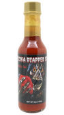 Larger 5 oz Bottle! A flavorful blend of Ghost Pepper and Carolina Reaper come together to make this sauce a big hit.  Also try our Reapper Jr.  Half the heat and all the flavor.