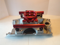 Red Anodized Aluminum Fuel Rails Does Not Include Injectors or Throttle Body