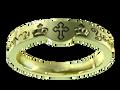 W0101 - 14k Green Gold (3 mm)