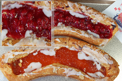 Cherry Danish Fruit Strip