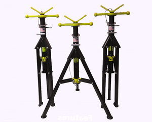Pipe Jack Stands >> 128bjs Blackjack Folding Pipe Stand V Head 28 45 2500 Lb