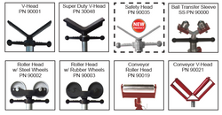 "Each Head Equipped with 1.5"" Acme Threaded Rod Can be used with any stand that accepts the 1.5"" Acme Threaded Rod 1 ½"" Acme rod is largest in the industry. More head options than any other manufacturer."