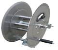 """Steel Eagle Industrial 5000 PSI Reel - 100FT X 3/8"""" CAPACITY (Stainless Steel)"""