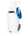 10 GAL PORTABLE FOAM UNIT-BATTERY OPERATED-NATURAL-SANTO-SS BALL VALVE WAND-GN