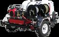 TRHDC6070KA, Gas Engine Polychain Drive Trailer Models (w/o Hose),  6.0 GPM, 7000 PSI,  CH1000 Kohler, AR Pump