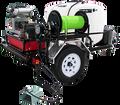 TRHDCJ/B1030KG, Gas Engine Polychain Drive Trailer Models (w/o Hose),  10.0 GPM, 3000 PSI,  CH740 Kohler, GP Pump
