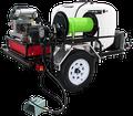 TRHDCJ/B1230KG, Gas Engine Polychain Drive Trailer Models (w/o Hose),  12.0 GPM, 3000 PSI,  CH980 Kohler, GP Pump
