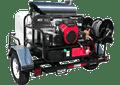 TR6115PRO-40HG, 5.5 GPM @ 4000 PSI, GX690 Honda, GP Pump (w/o Hose)