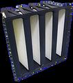 Merv 16 - 24x24x12, Ultra XV, 8 Panel, SH