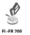 Mosmatic High Pressure Universal FL-EB 200 8in
