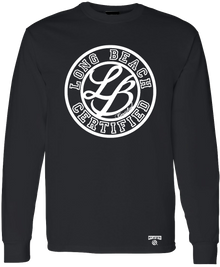 LONG BEACH CERTIFIED LONG SLEEVE T SHIRT