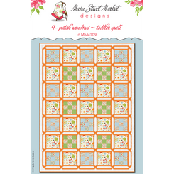 Main Street Market Designs - 9-Patch Windows Quilt Pattern