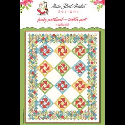 Main Street Market Designs - Funky Patchwork Quilt Pattern