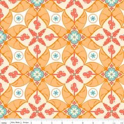 Calliope Scroll - Orange