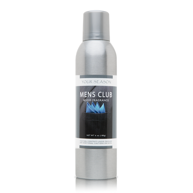 Your Season Mens Club Room Fragrance Made With Essential Oils