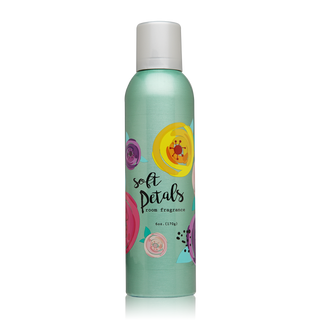 Soft Petals Room Fragrance with essential oils.