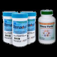 Renadyl™ (3 Bottles) + Kibow Fortis® (1 Bottle) Combo Pack