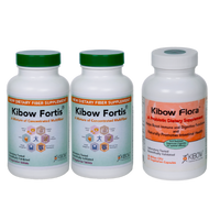 Kibow Fortis® (2 Bottle) - Kibow Flora™ (1 Bottle) Combo Pack