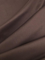 Rugged Brown Cotton Twill