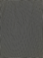 Black/White Optical Dot Viscose Twill