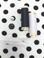 Gutermann Thread #010, 020, YKK Invisible Zipper #501, Buttons: Half-Ball Pearl, Black 2-Hole Crepe