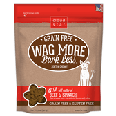 Wag More Bark Less Soft & Chewy Beef & Spinach Treats, 5 oz.