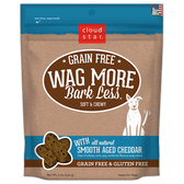 Wag More Bark Less Soft & Chewy Smooth Aged Cheddar Treats, 5 oz.